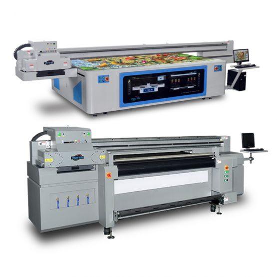 Yotta Hybrid / Flatbed Printers